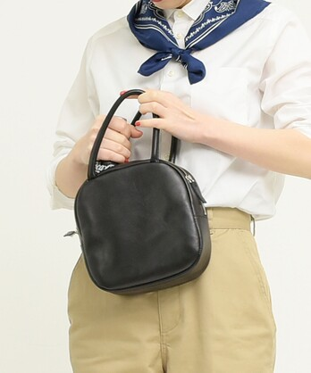 △ICY LEATHER BOSTONBAG