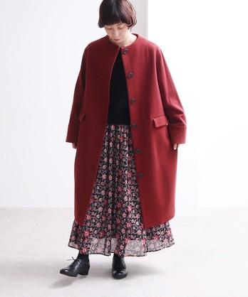 ○super100 Wool コクーンコート