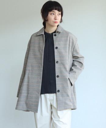 △super100 Wool ハーフシャツコート