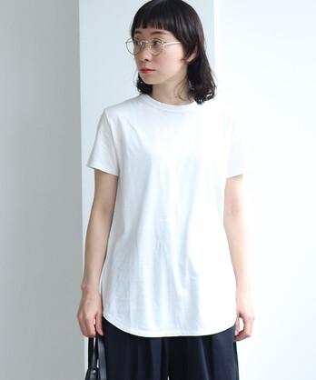 △Supima コットン/キュプラ 天竺half Sleeve Tシャツ