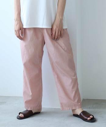 ○コットン/キュプラ product dye petti パンツ
