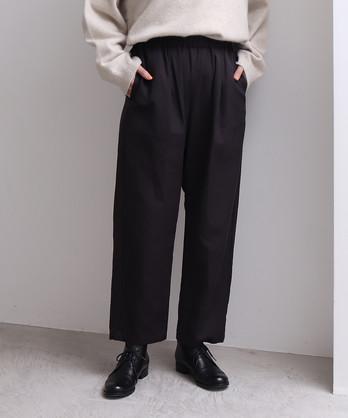 ビスコース/コットン elastic パンツ
