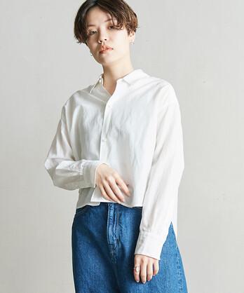 △○C/Cu/Liローン リラックスショートシャツ