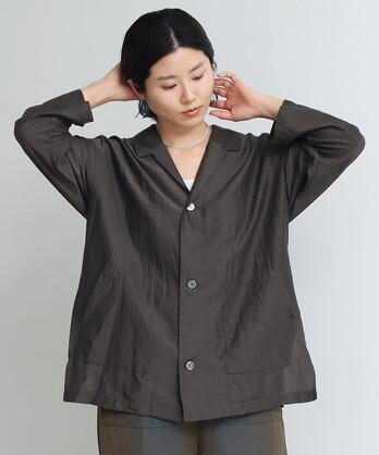 △○C/Cu/Liローンシャツジャケット