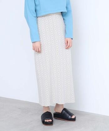 ○ダブルジャカードストレートスカート