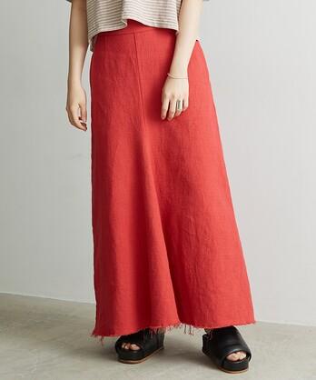 ○プリペラ伊吹染めバックジップスカート