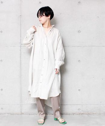 △BOYANG LINENシャツワンピース