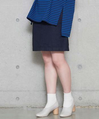 ○NVA セーラーデニムスカート