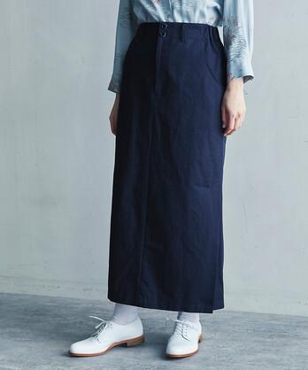 ○Cotton/Linen カルゼ ロングスカート