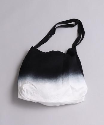 △キュプラシワセテン 段染めバッグ