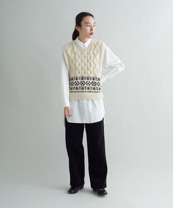 ネパール手編み アランJQベスト