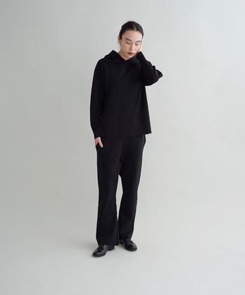 ○キュプラスムース フードプルオーバー