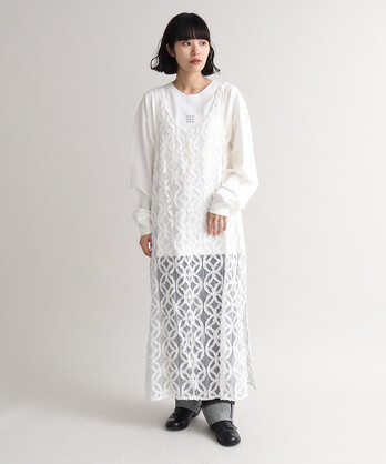 ○Japanese patternJQ ノースリロングワンピース