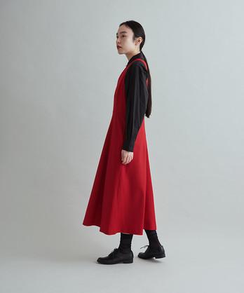 △2/60ウールサキソニー ジャンパースカート