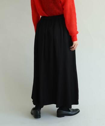 ○サテントリプルワッシャー ルーズマーメイドスカート