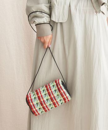 ○オーロララメカットリリージャガード 円錐バッグ
