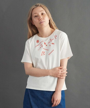 ○PABLO天竺OPNNERコラボ刺繍Tシャツ