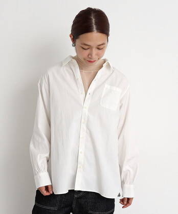 ○malle 甘撚りORGANIC オックス シャツ