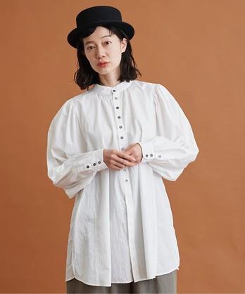 〇malle コットンポプリン 大きなシャツ
