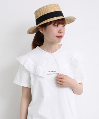 〇malle 60/-ローン カットワーク刺繍 付け衿