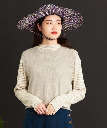 ○malle Cotton/Linen ショートベスト