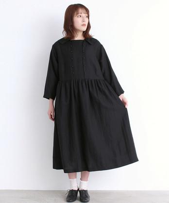 〇malle リヨセル/ラミーローン よそゆきドレス