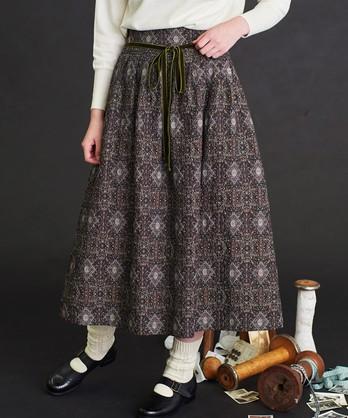 〇malle ゴブラン織 マダムのスカート