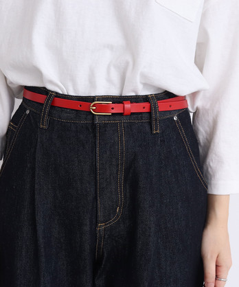 △ホーク オリジナル牛革細ベルト