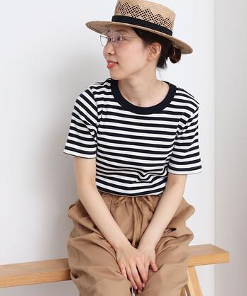 △リサイクルコットンテレコ 半袖Tシャツ
