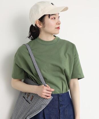 △〇度詰め天竺 ボタニカルダイBIG Tシャツ