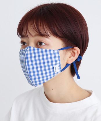ギンガムチェックマスク