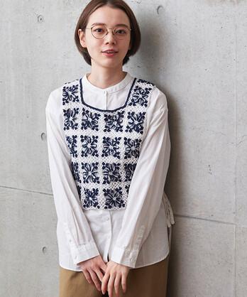 ○かぎ針編みベスト