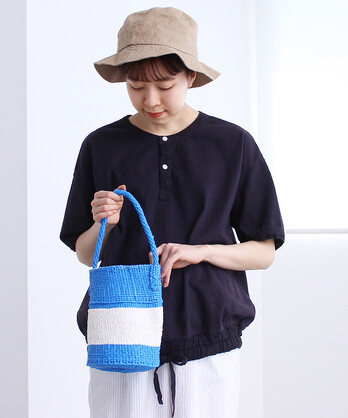 △プラスチックサイザル ミルク缶BAG
