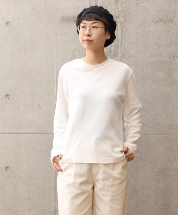 △Pancake Knit クルーネックカットソー