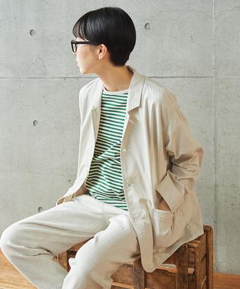 〇ピンポイントオックス シャツジャケット (セットアップ対応)