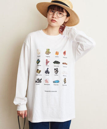 △〇minerals long sleeve