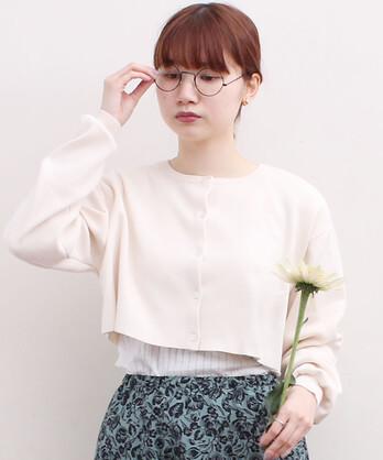 △〇C/Ny pleating short カーディガン