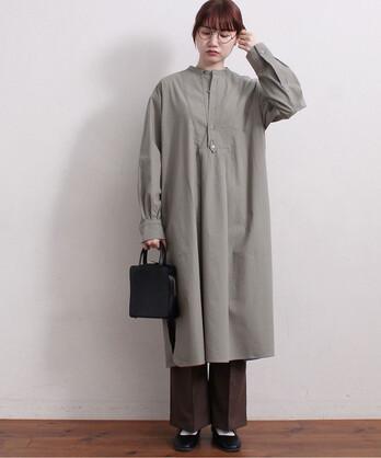 〇C/Si twill shirt ワンピース