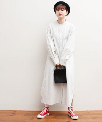 〇DAY shirt dress