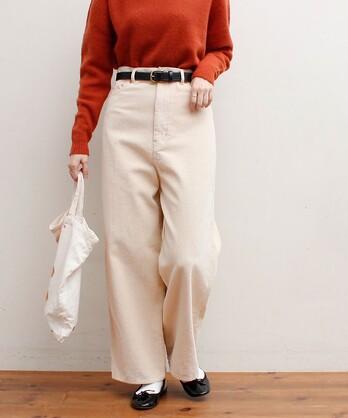 △〇8W corduroy pants 020