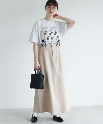 HEMP/COTTON suupenderskirt