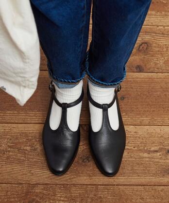 〇Tstrap shoes