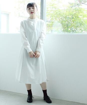 〇C/リボン刺繍 ワンピース