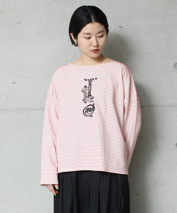 HANZBON バスクシャツ