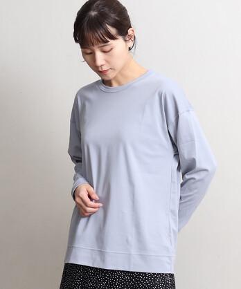 △80/スムース水起毛 長袖プルオーバー