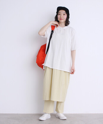 △〇FINXニットポロシャツ