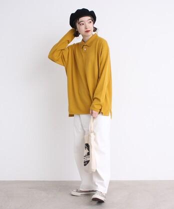 〇ルナファニットポロシャツ