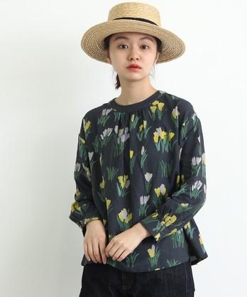 〇cdc ○otsukiyumiコラボ○ クロッカスのお花ブラウス