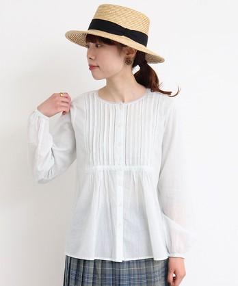 ○cdc CottonVoile 切替ブラウス
