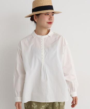 cdc 40/-ポプリン ゆったりシャツ